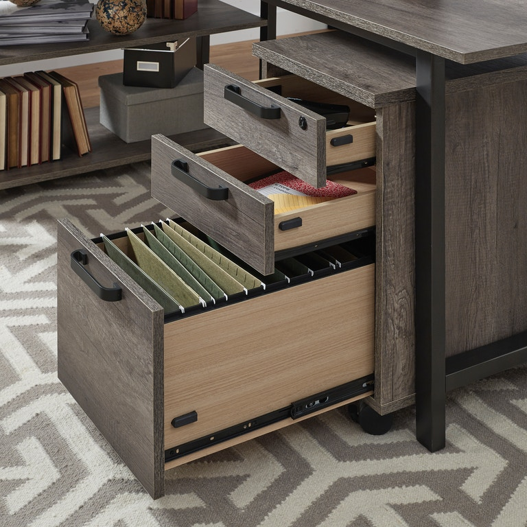 Liberty Furniture Home Office 2 Piece Desk Set 686-HO-2DS