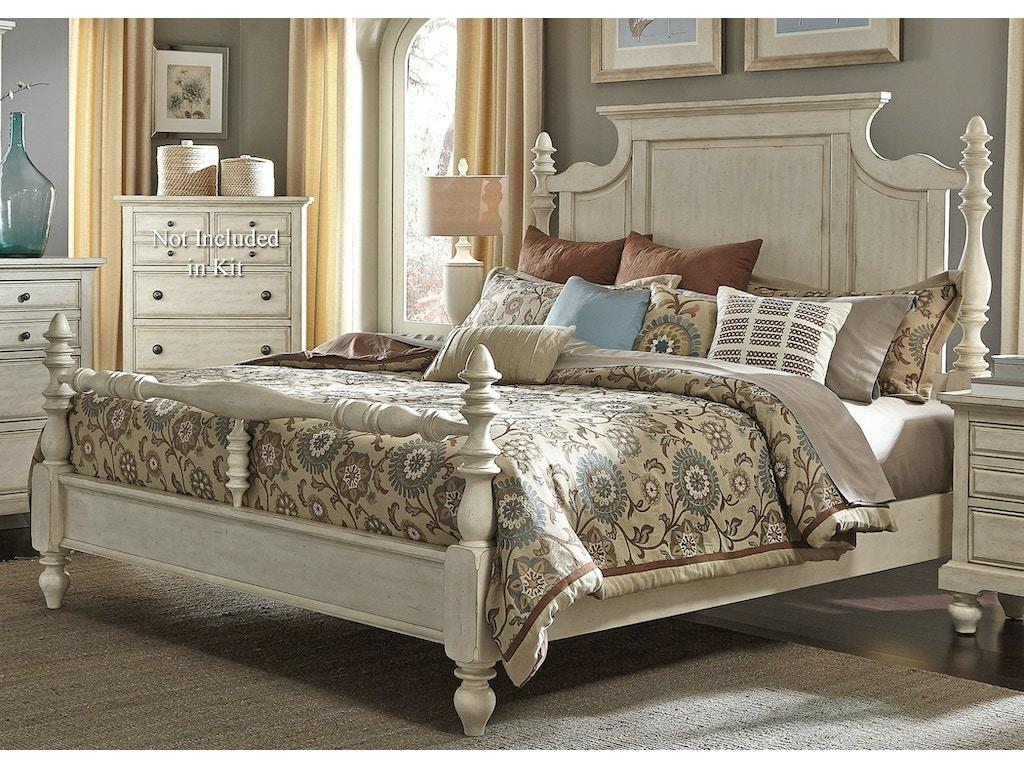Liberty Furniture Bedroom Queen Poster Bed 697 Br Qps Seaside Furniture Toms River Brick
