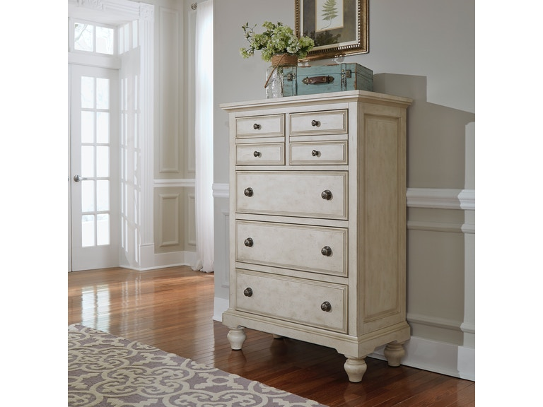 Liberty Furniture Bedroom 5 Drawer Chest 697 Br41 China Towne Furniture Solvay Ny Syracuse