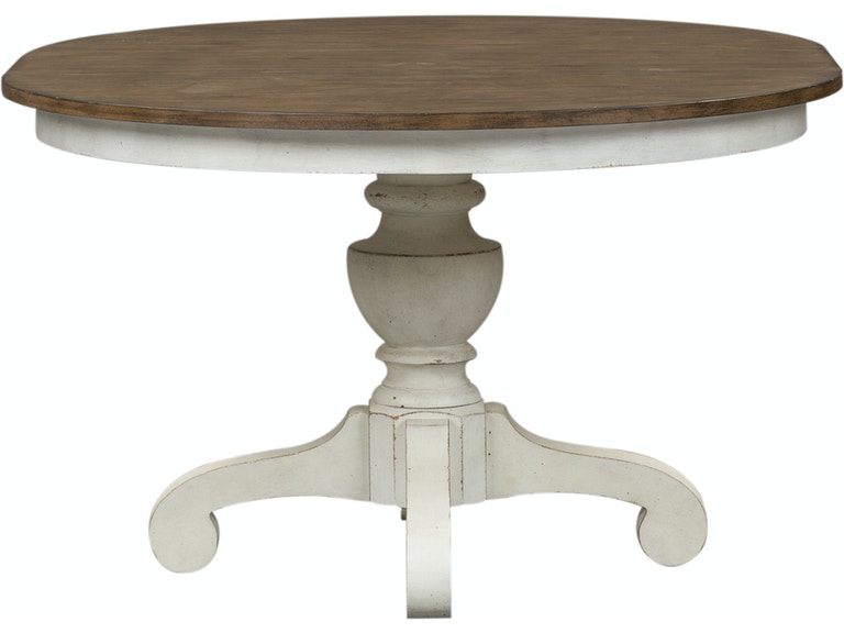 Homestead Collection Su Dining Room Single Pedestal Table Base 698 P4860 Sofas Unlimited