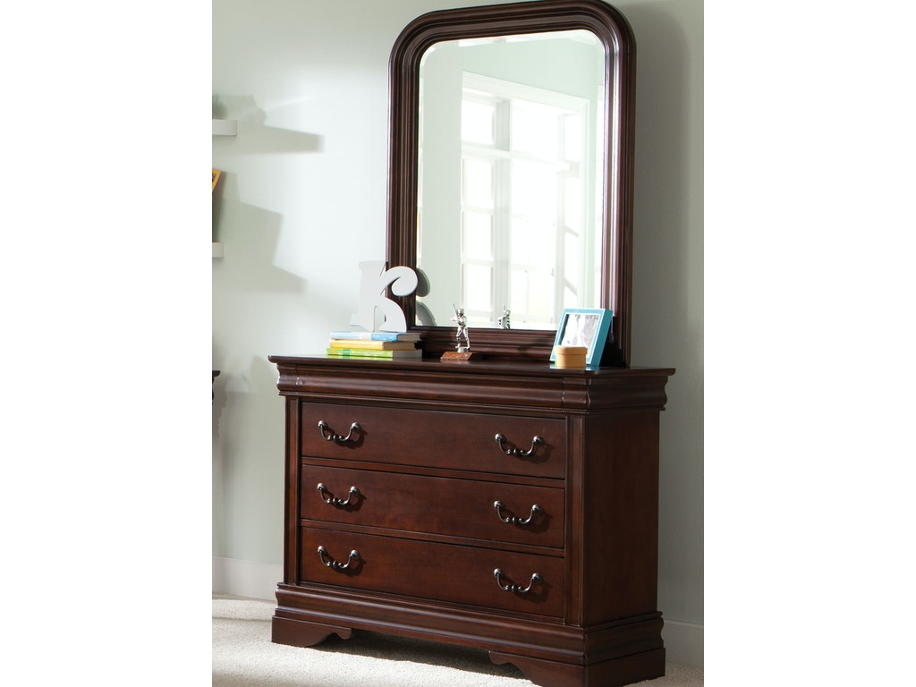 Liberty furniture youth dresser and mirror 709 ybr dm for Furniture and mirror
