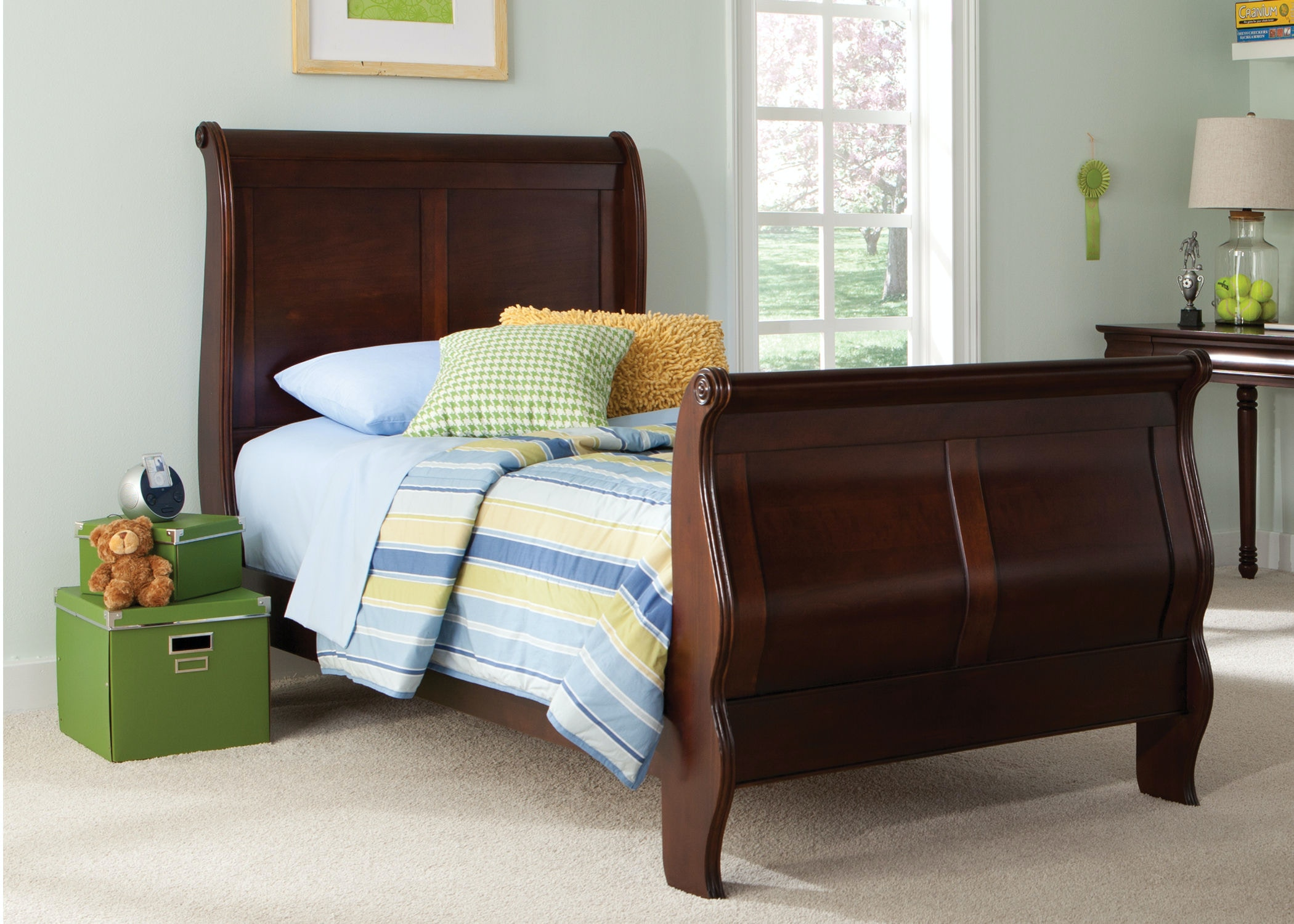 Liberty Furniture Youth Twin Sleigh Footboard 709 BR11F At Kiser Furniture