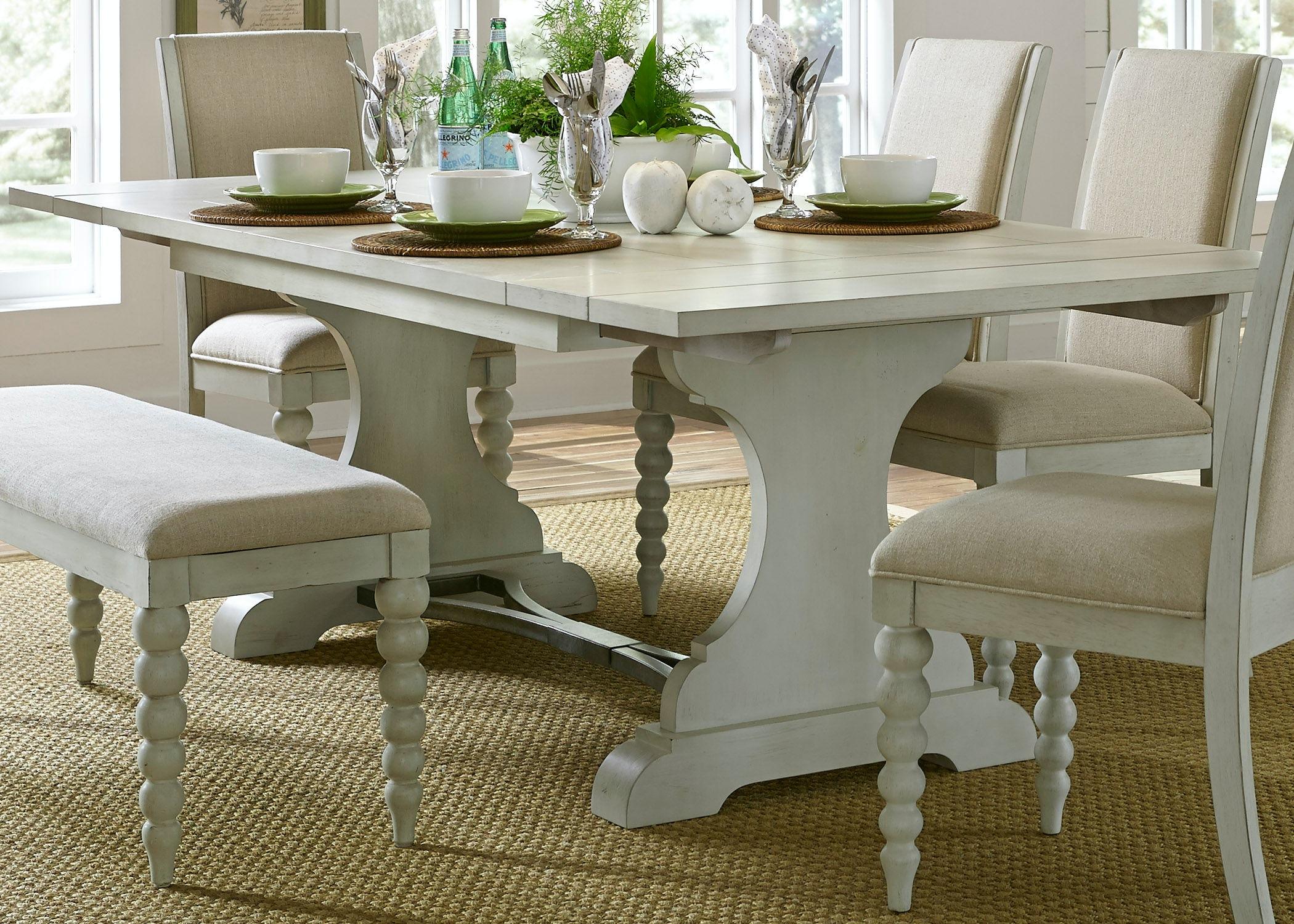 Liberty Furniture Trestle Table 731 T4294