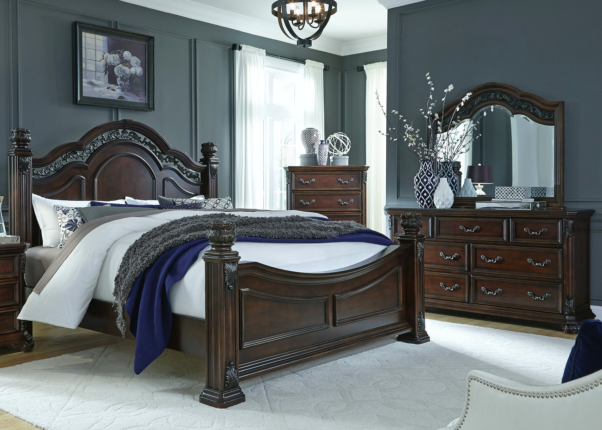 liberty bedroom furniture liberty furniture bedroom poster bed dresser and 12082