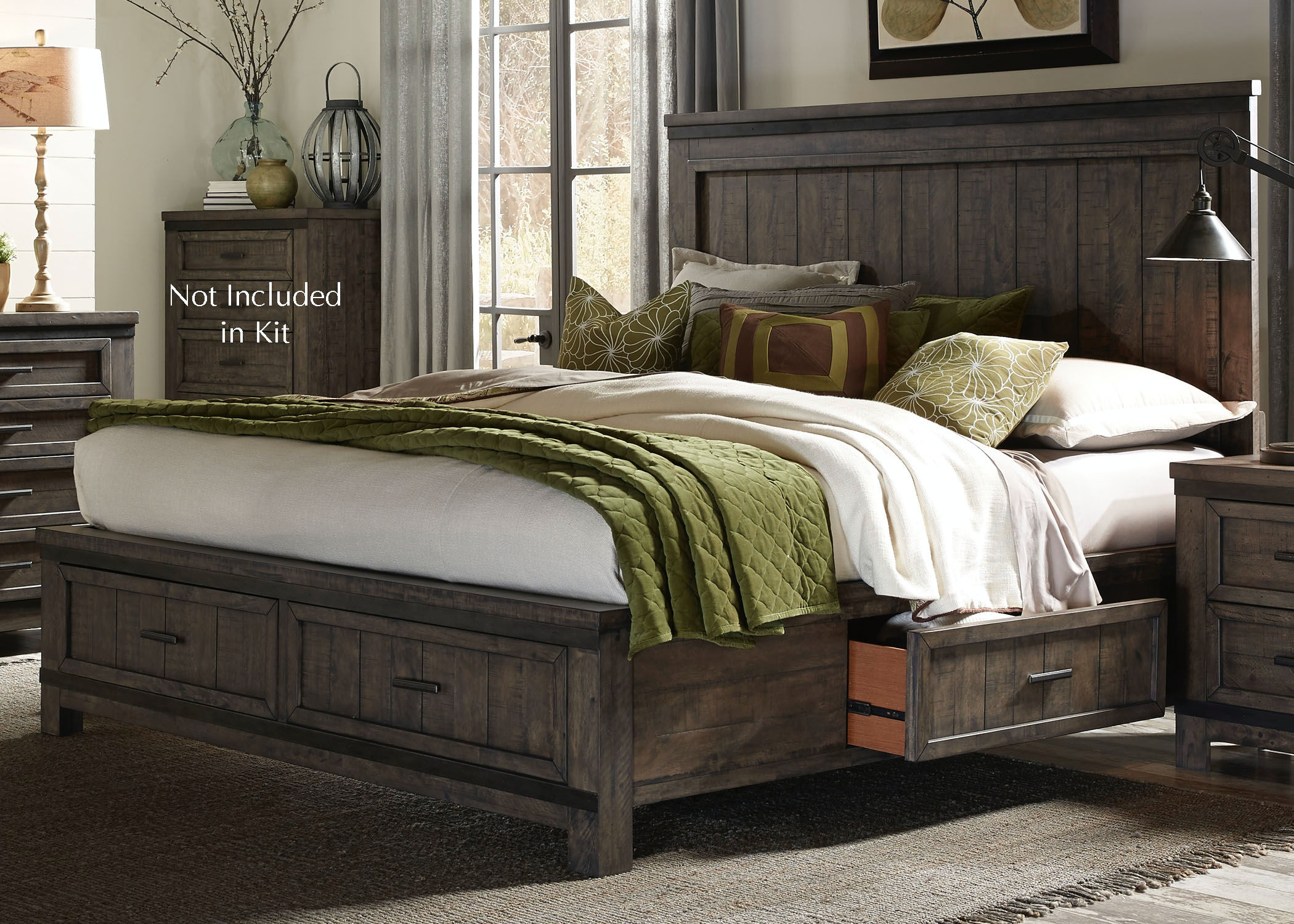 liberty bedroom furniture liberty furniture bedroom king two sided storage bed 759 12082