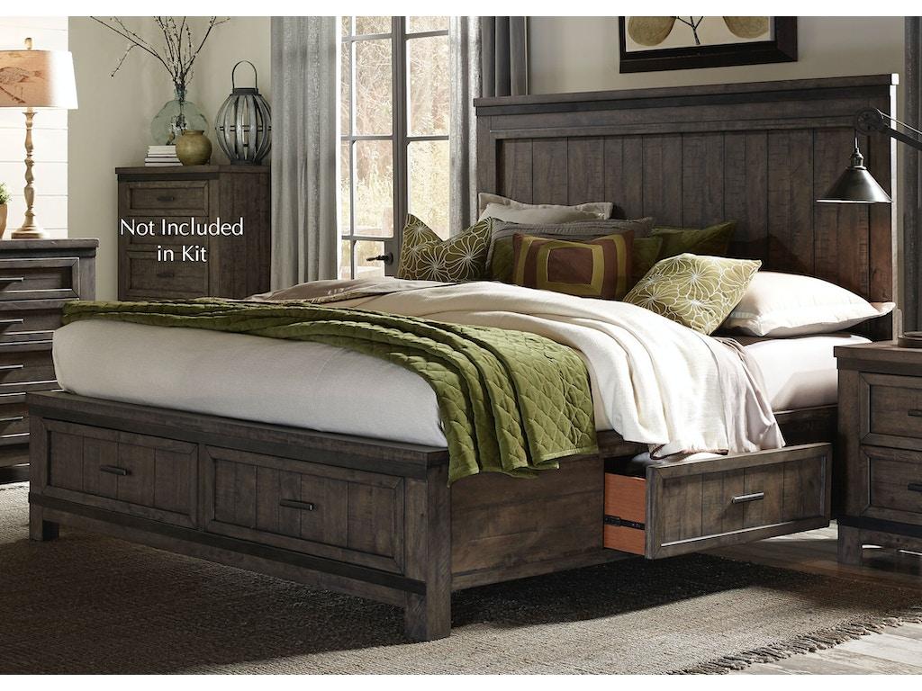 Liberty Furniture Bedroom King Two Sided Storage Bed 759 Br K2s Seaside Furniture Toms River