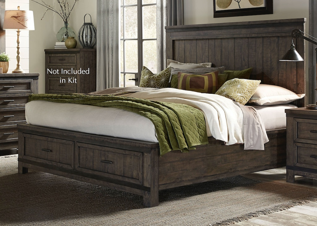Liberty Furniture Bedroom Queen Storage Bed 759 Br Qsb China Towne Furniture Solvay Ny