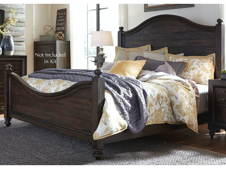 Liberty Furniture Bedroom King Poster Bed 816-BR-KPS - China Towne ...