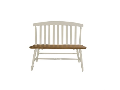 Homestead Collection-SU Slat Back Bench 841-C9000B