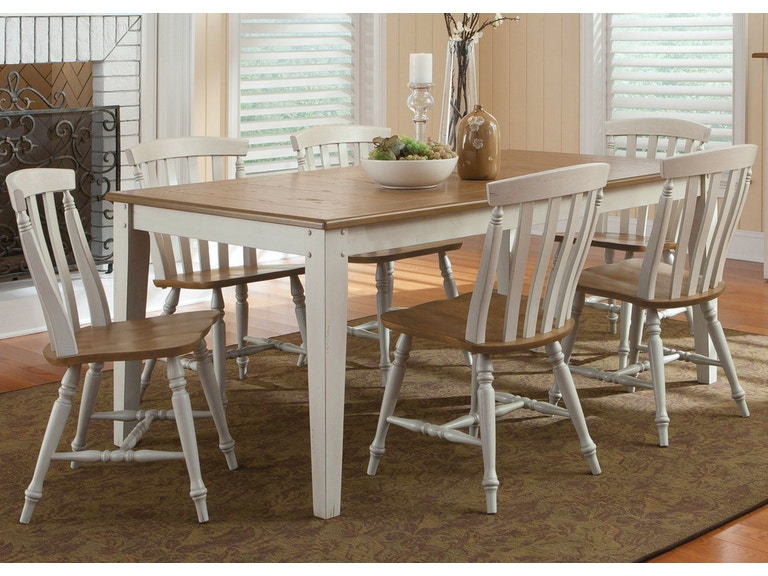 Liberty Furniture 7 Piece Rectangular Table Set 841 CD 7RLS