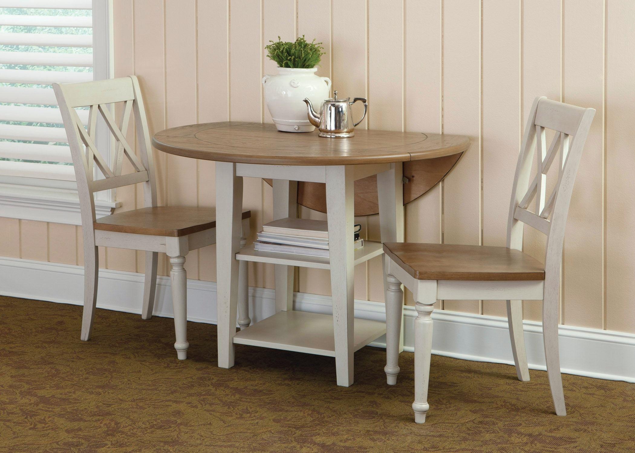 Liberty Furniture Opt 3 Piece Drop Leaf Table Set 841 CD O3DLS