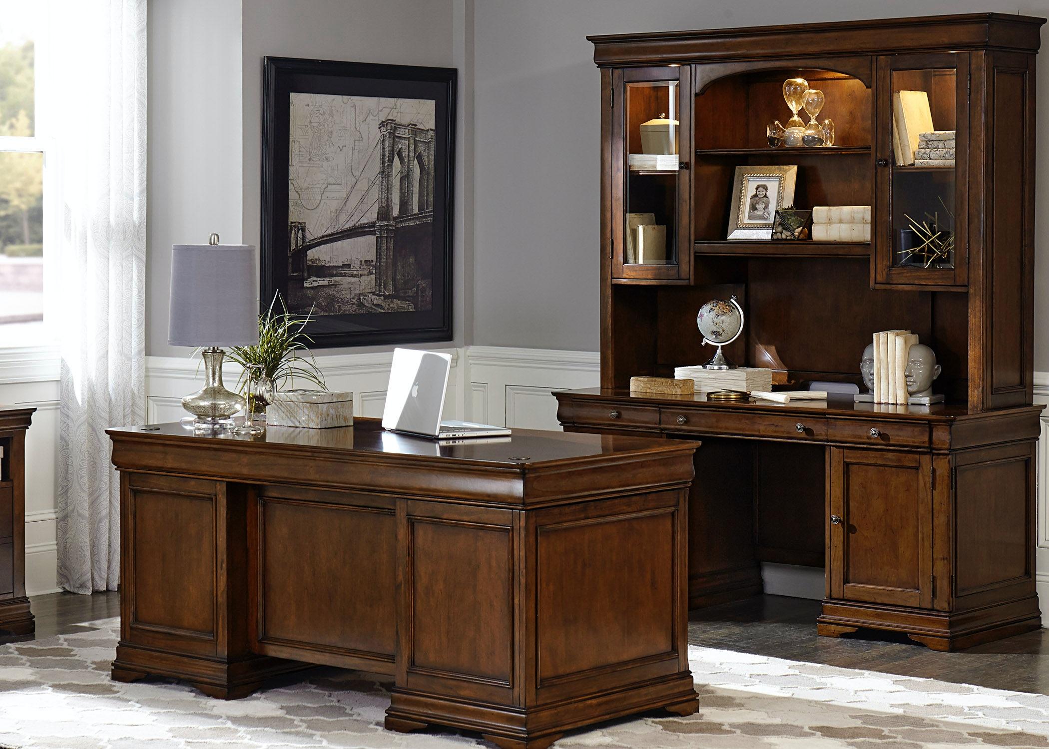 Liberty Furniture Home Office 5 Piece Jr Executive Set 901