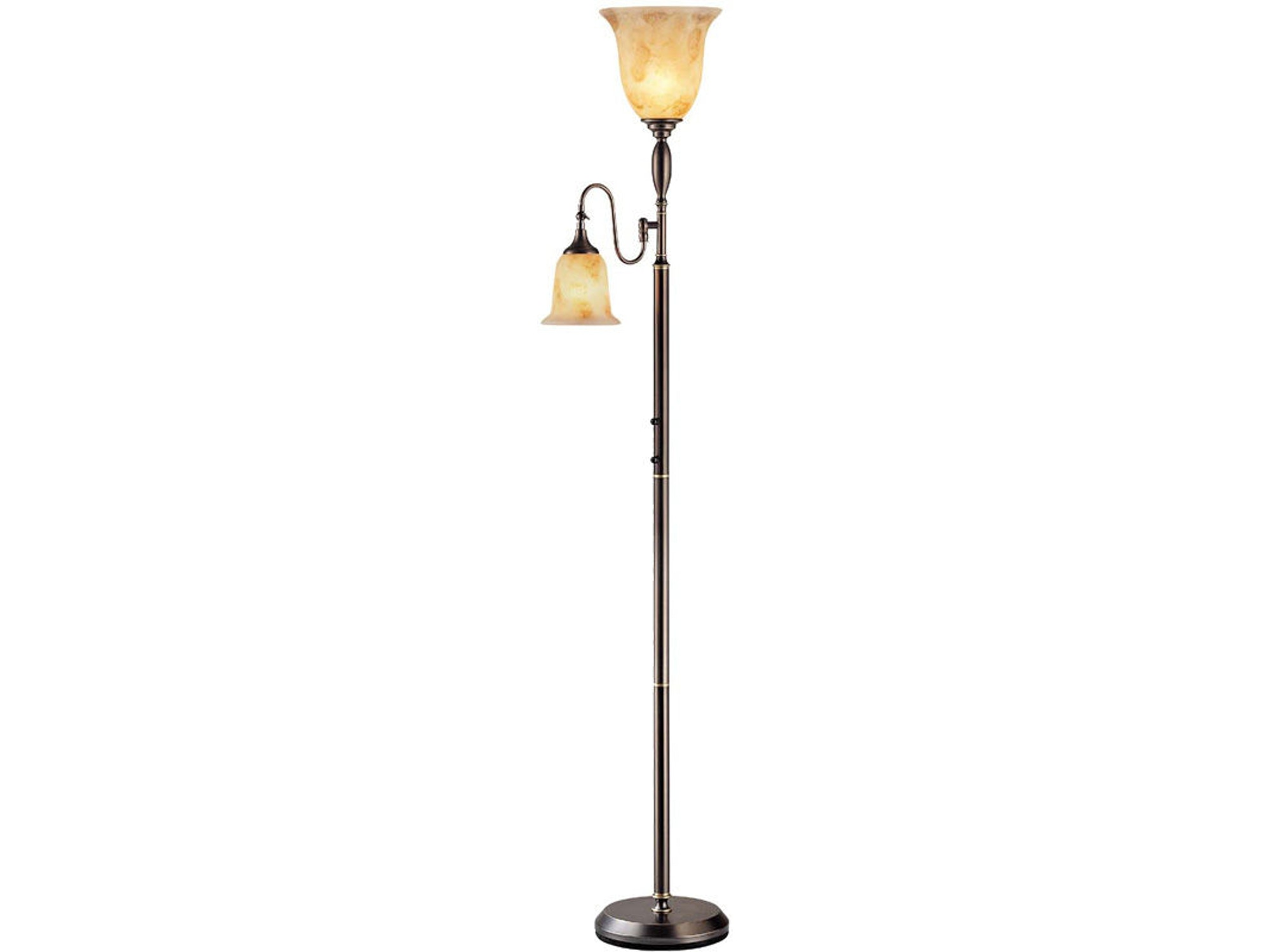 Torchiere Lamp with Reading Light 022372