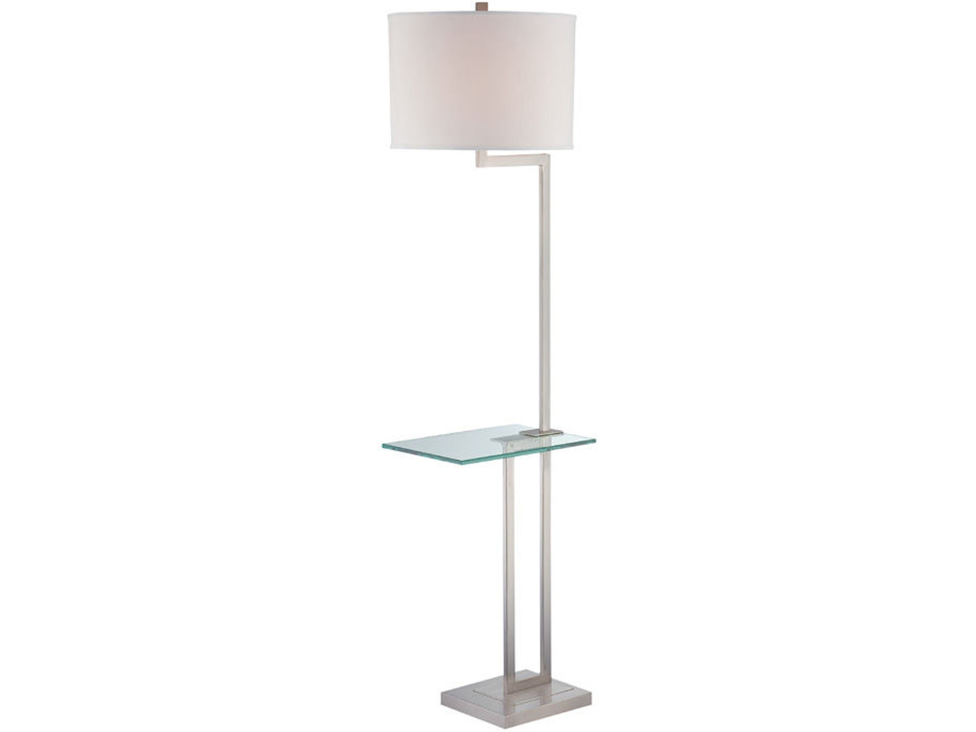 Floor Lamp with Glass Table 028814