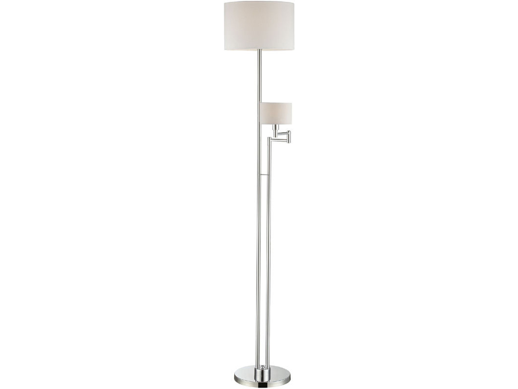 Floor Lamp with Swing Arm Reading Lamp 031176