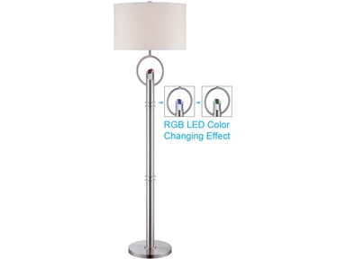 LED Changing Colors Floor Lamp 041161