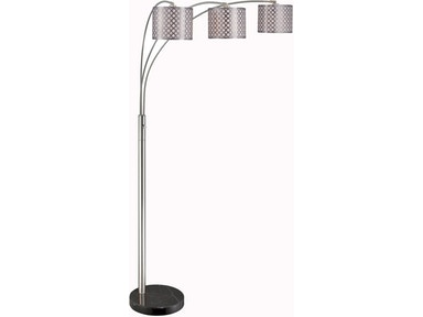 Metal Shade 3-Lite Arch Lamp 417669