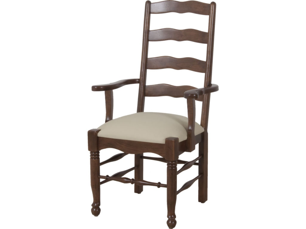 Lorts manufacturing dining room arm chair 1114 lenoir for Dining room johnson city tn