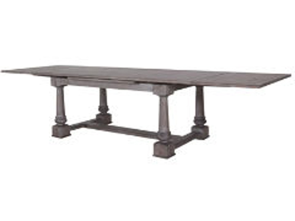 Lorts Manufacturing Dining Room Draw Leaf Table 2214 R W