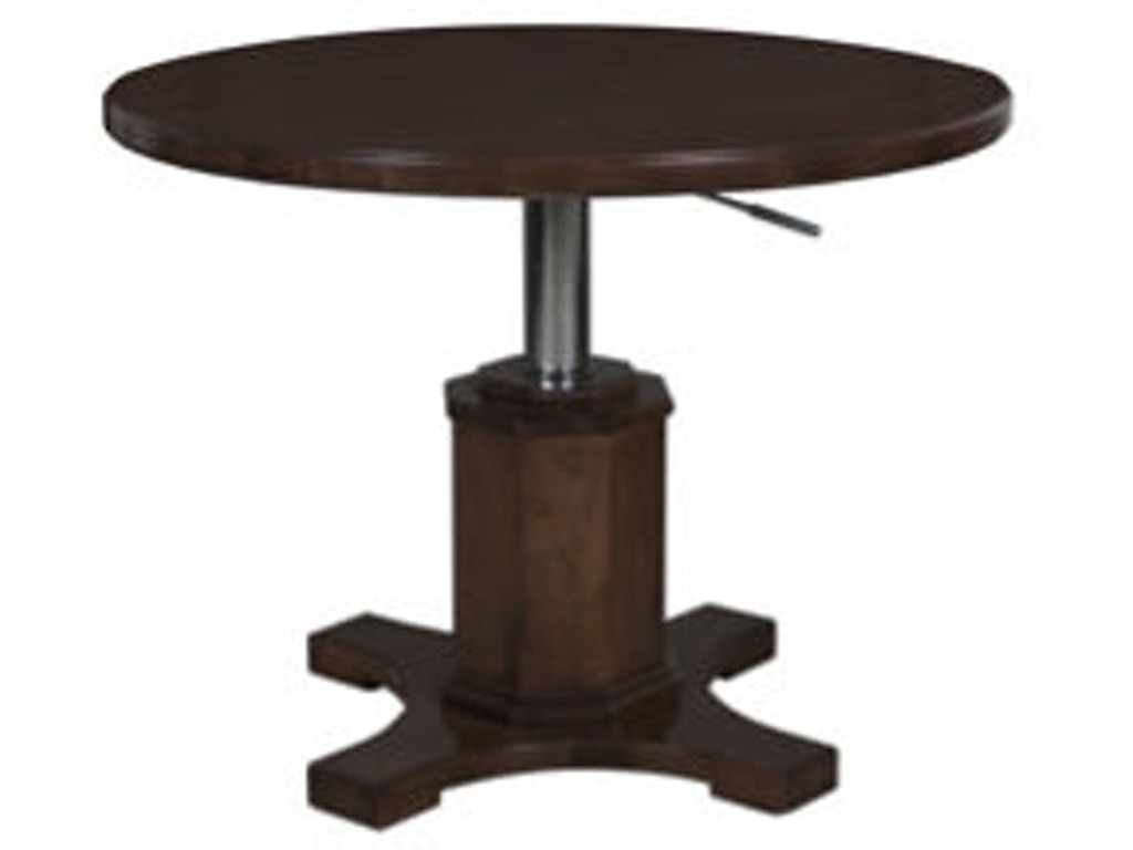 Lorts Manufacturing Living Room Hi Lo Cocktail Table 8623 Hickory Furniture Mart Hickory Nc