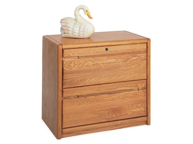 Martin Home Furnishings Two Drawer Lateral File 00450