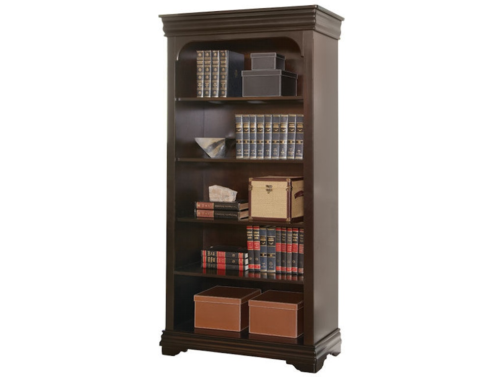 Martin furniture home office open bookcase bt3678 simply for Cheap affordable furniture