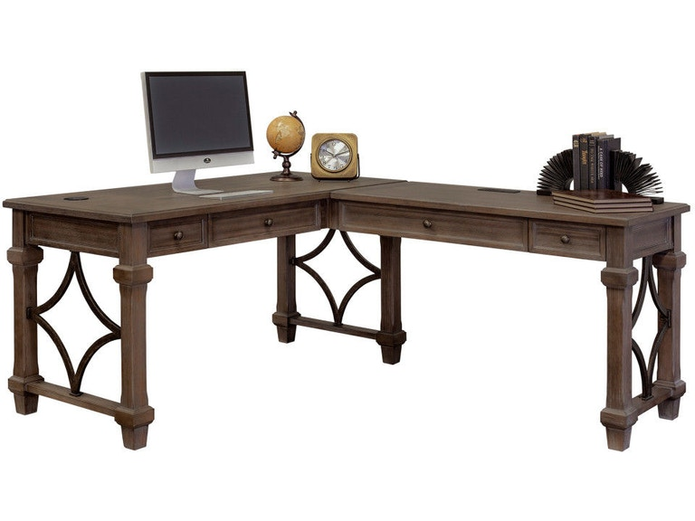 Martin Furniture Home Office Open Desk IMCA386R - Carol House