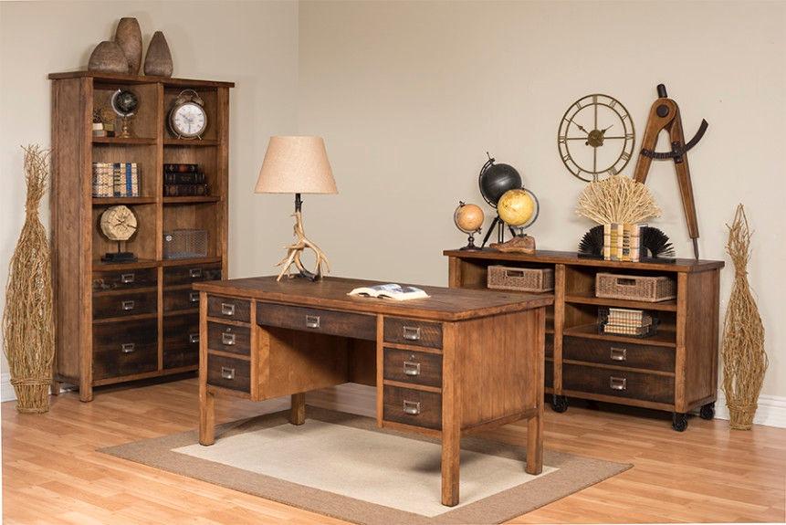 Etonnant Martin Furniture Half Pedestal Desk IMHE660