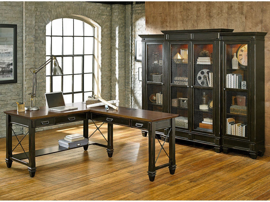 Martin Home Furnishings Home Office Right Hand Facing Open