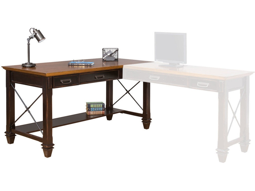 Martin Home Furnishings Right Hand Facing Open L Shaped Desk Imhf386r Flemington Department
