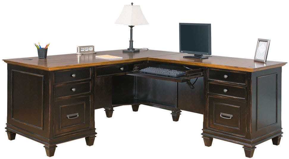 Martin Furniture Home Office Right Hand Facing Return