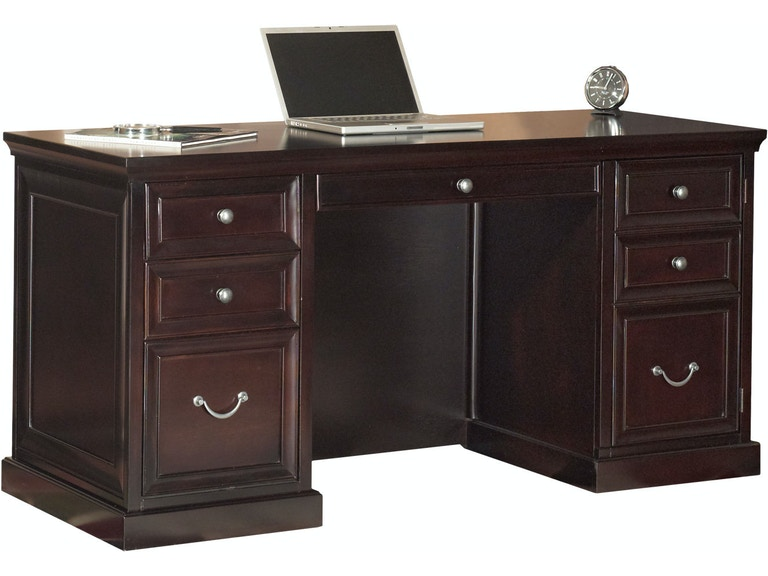 Martin Furniture E Saver Double Pedestal Desk Fl660