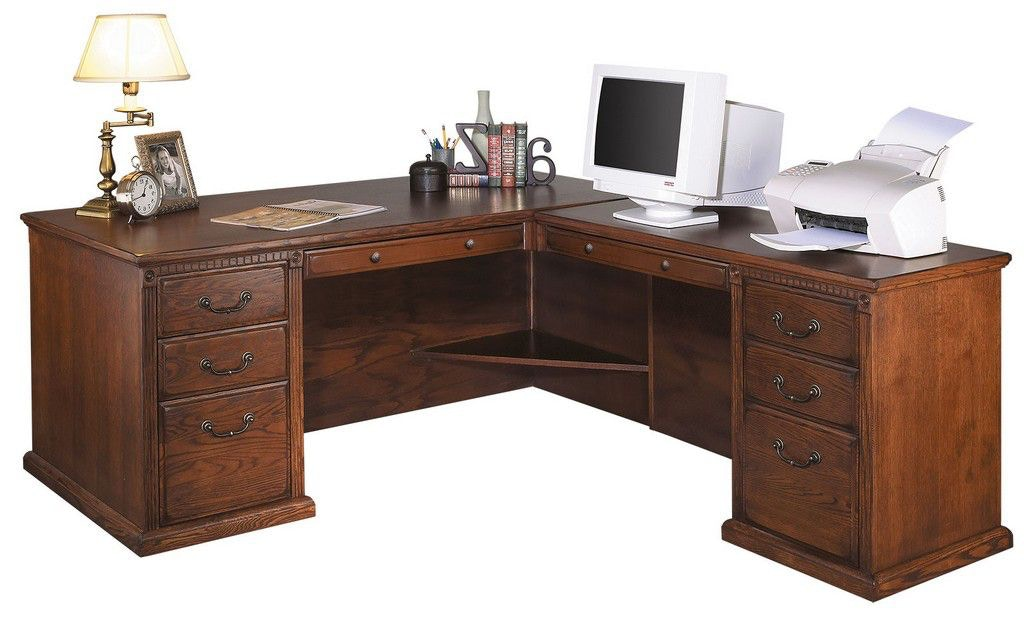Martin Furniture Right Hand Facing L Shaped Desk HO6841RB