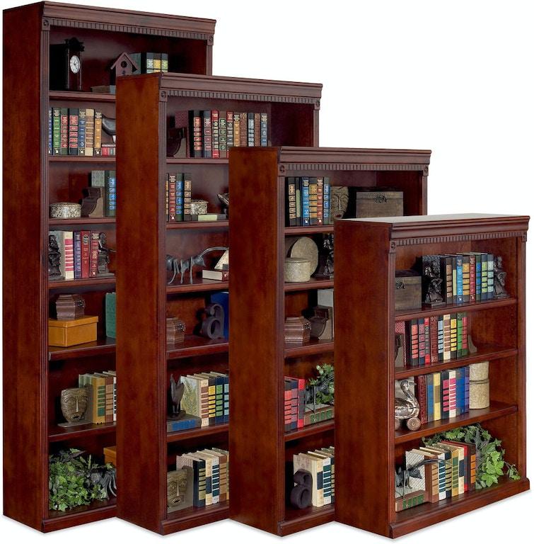 Martin Furniture Home Office 72 Open Bookcase HCR3672