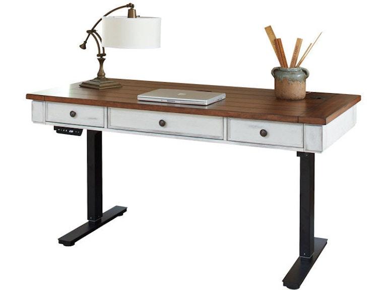Sit Stand Desk >> Martin Furniture Home Office Sit Stand Desk Imdu384t Flemington