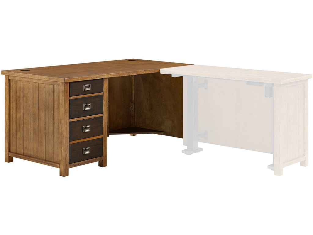 Martin Home Furnishings Home Office Return Desk Imhe664r Charter Furniture Dallas Fort Worth Tx