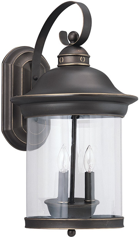 Generation Lighting Outdoorpatio 3 Light Outdoor Wall Lantern 88083 71 Exotic Home Coastal Outlet