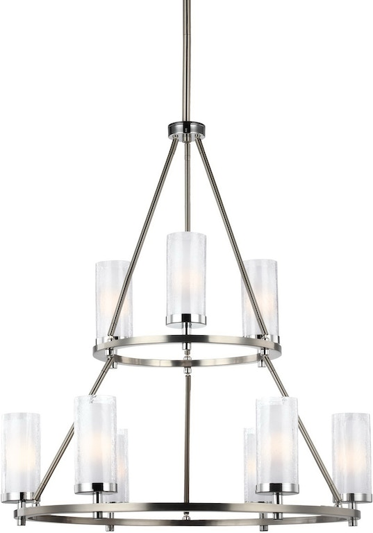 Murray feiss lamps and lighting 9 light two tier chandelier f2987 murray feiss 9 light two tier chandelier f29879snch aloadofball Gallery