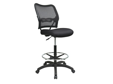 Office Star Products Deluxe Airgrid® Back Drafting Chair 13-37N20D