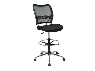 Office Star Products Deluxe Airgrid® Back Drafting Chair 13-37P500D