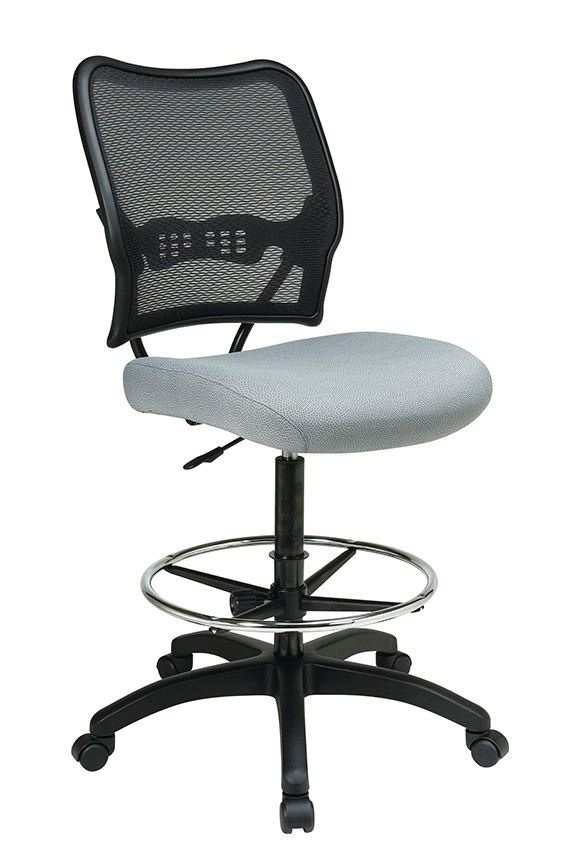 Exceptionnel Office Star Products Airgridu0026reg; Back And Custom Fabric Seat Drafting  Chair ...