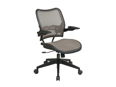 Office Star Products Deluxe Latte Managers Chair 13-88N1P3