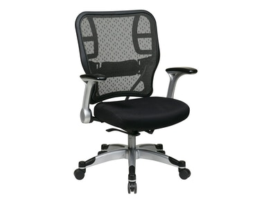 Office Star Products Deluxe R2 Spacegrid® Back Chair 215-3R2C62R5