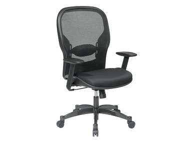 Office Star Products Professional Black Breathable Mesh Back Chair 2300
