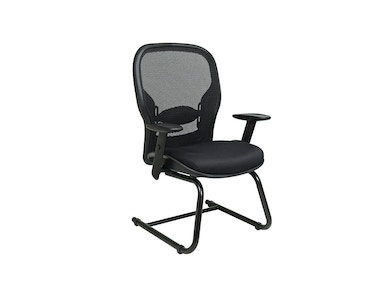 Office Star Products Professional Black Breathable Mesh Back Visitors Chair 2305