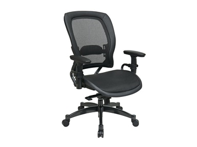 Office Star Products Professional Black Breathable Mesh Back Chair 2787