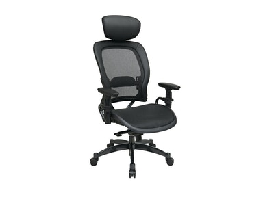 Office Star Products Professional Black Breathable Mesh Back Chair 27876