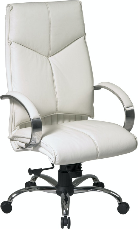 Office Star Products Deluxe High Back Black Executive Chair 7270