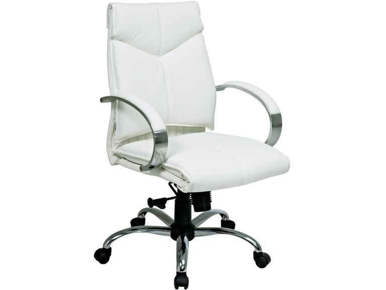Office Star Products Deluxe Mid Back Executive Chair 7271