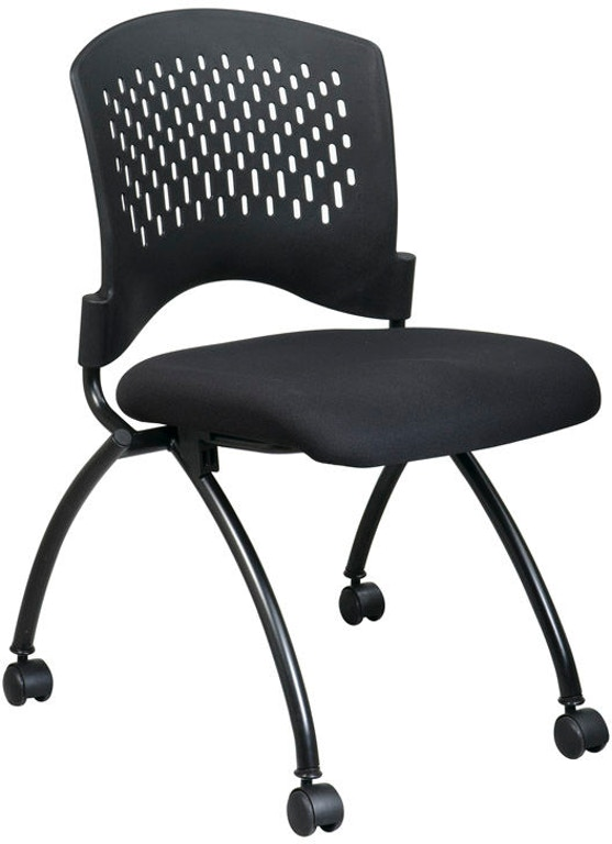 Office Star Products Deluxe Armless Folding Chair 83220-A - Office Star Products Home Office Deluxe Armless Folding Chair 83220